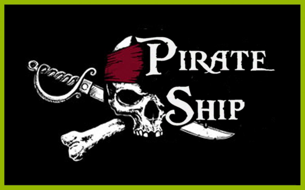 Pirate Ship Stockport Logo